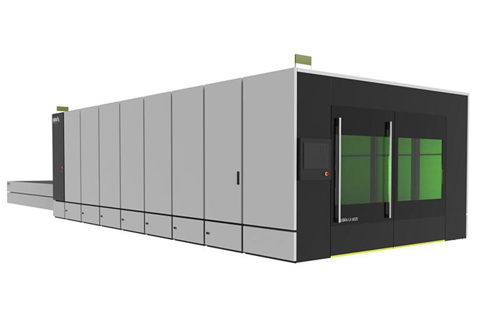Волоконный лазерный станок UBRA