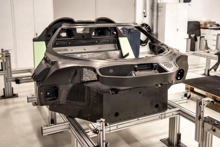Автомобильный монокок, который возможно обработать на станке компании BRAY